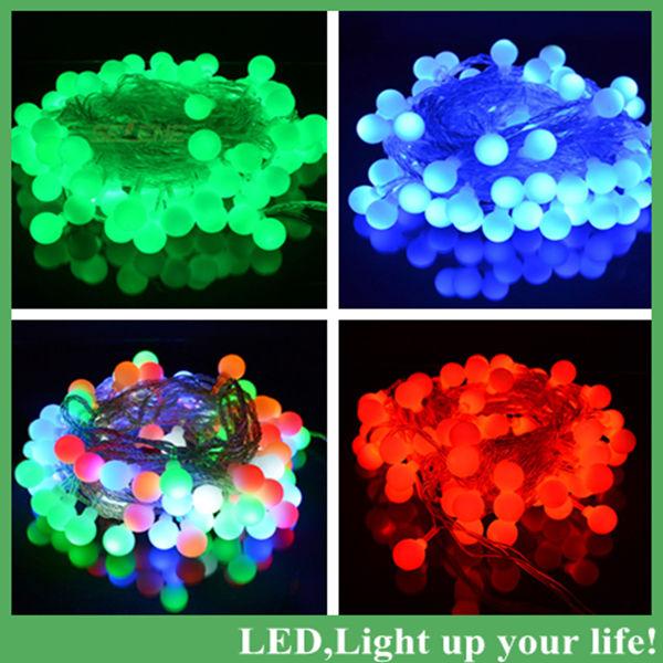 Светодиодная лампа SELENE 10 /100leds 220v dhl SE0177