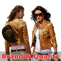 Brand Motorcycle Faux Leather Jacket Women Leather Jackets Clothing Coat Clothes Short Feminino Jaqueta De Couro Feminina 2015