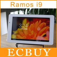 Ramos i9 Intel Atom Z2580 2.0GHz Tablet PC 8.9 Inch IPS Screen 1920*1200 Android4.2 2G RAM 16GB Dual Camera 5MP OTG