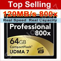 Lexar 800x 32GB CompactFlash Card 120MB/s UDMA 7 VPG-20 CF Memory Card For Digital DSLR Cameras 1080p Full HD 3D Video Camcorder