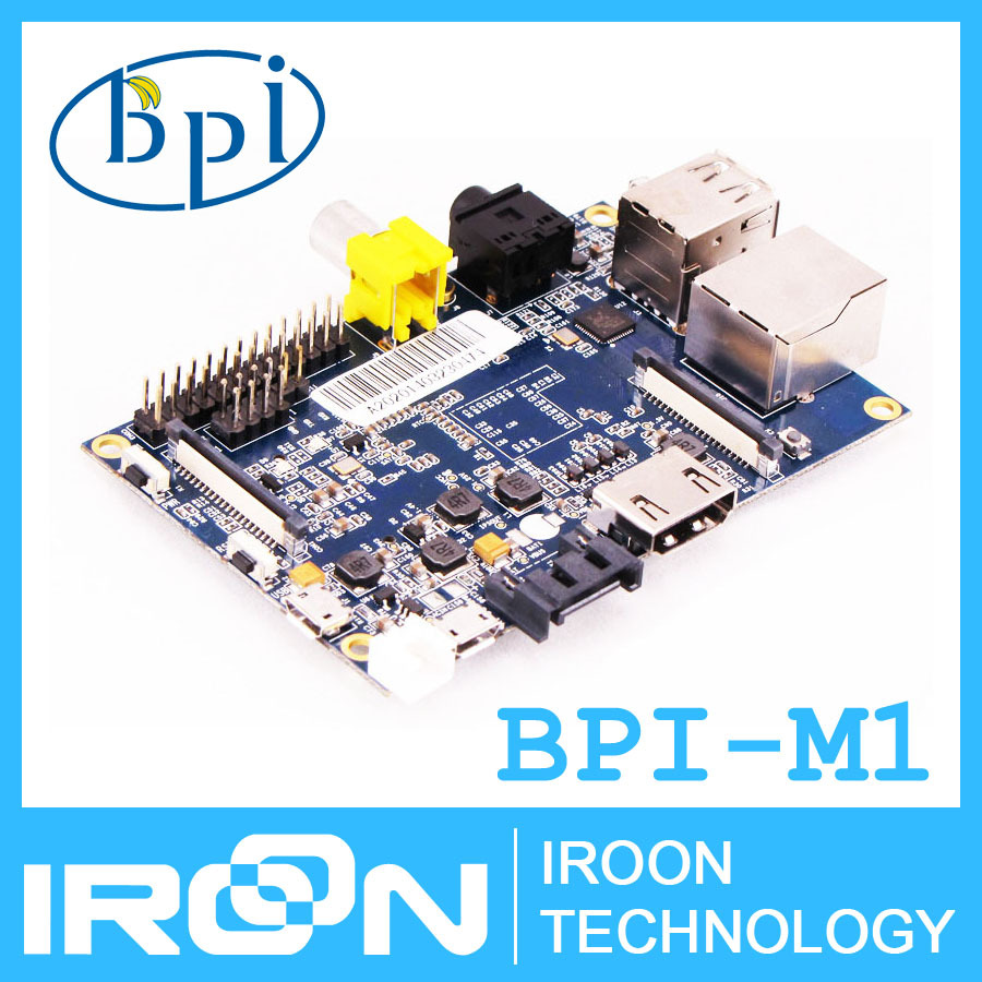 Original BPI-M1 Banana Pi A20 Dual Core 1GB RAM Open-source development board singel-board computer.FREE SHIPPING fast delivery.(China (Mainland))