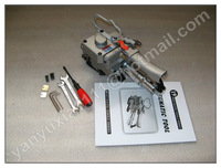 WHOLESALE AND RETAIL+ NEW PNEUMATIC PET/PLASTIC/PP STRAPPING TOOL XQD-19 ,PET STRAPPING MACHINE FOR 13-19MM(TENSION>=3000N)