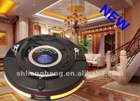 Free Shipping 4 IN 1 Robot Vacuum Cleaner KL310 (auto charging with remote controller,mop and UV lamp,Virtual Wall)