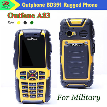 Promotion Outfone BD351G Walkie Talkie PTT Military Outdoor Phone: Thermometer; Altimeter; Barometer; GPS(optional), Waterproof