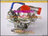 Wholesale New CT16 17201-OL030 17201-0L030 Turbo Turbine Turbocharger For TOYOTA Hilux Vigo D4D Engine 2KD 2KD-FTV 2.5L Diesel