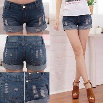 Promotion Denim Shorts Women (S,M,L,XL,XXL,XXXL)Fashion Ladies Jean Shorts,Denim Pants with Casual Short Hot Sale Free Shipping
