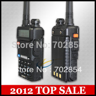 UV-5R dual band dual display dual standby walkie talkie the cheapest dual band VHF 136-174 UHF 400-520MHz 1800mAH battery