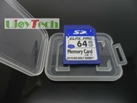 Full and Real Capacity Class10 SDXC 64GB SD OEM Memory Card + Box + Free Shipping+ Gift card reader