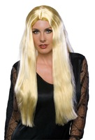 Long  Witch ladies'  Hair Wig Blonde Color  for Women Female Party / Masquerade/ Halloween/ carnival  Sample Free Shipping