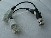 Hot Sale 10 Pairs High Quality CCTV BNC Video Balun Camera Cat5 Transceiver (screwless) 711P