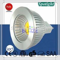 20X Hot Sale Dimmable 3W 5W 6W COB LED Bulbs Super Bright MR16 LED Spotlight Lamp GU5.3 DC 12V, Free Shipping