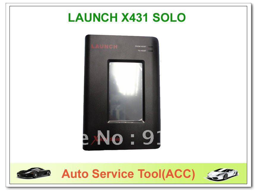 X431 solo launch diagnostic tool free update english 111 car newest software 2013.4 free shipping(China (Mainland))
