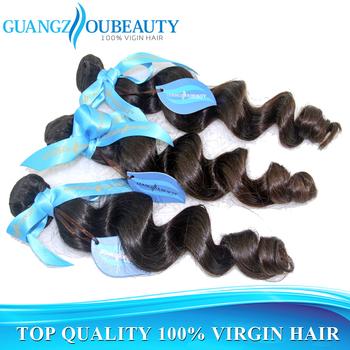 Top quality 7a raw unprocessed virgin brazillian hair loose wave, human hair weave wavy bundles, free shipping