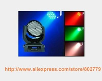 Free Shipping Wholesale 108*3W RGB 3 in 1 LED Moving Head Light Quality Powerful Moving Head Light