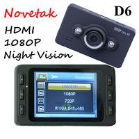Car Camera DVR Full HD1080P D6 IR night HDMI 2.7'' screen 120 degree view angle Car Registrar Vehicle camera Free shipping