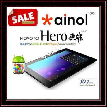 beiyong---On Sale 2013 Original Ainol Novo10 Hero Quad Core IPS Screen Android 4.1 16GB Cortex-A9 HDMI Tablet PC Russian