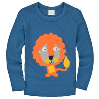 Excellent Quality Baby Boy's Long Sleeve Tees Animal Cars Cartoon Designs, 6 Sizes(18M-6T)/lot - JBLT321/323/327/355/369/380