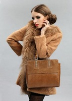 2013 Autumn And Winter New Weidipolo Brand Women Handbags Composite Genuine Leather Tote Bags Fashion Design Free Shipping