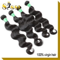 Oscar Hair Cheap High Quality 100% Peruvian Virgin Hair Body Wave Human Hair Weaves Hair 4/3pcs Mixed Length Free Shipping