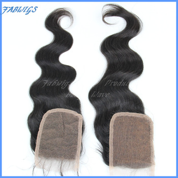 "Free shipping Cheap Brazilian Wavy Virgin Hair Closures 3.5x4"" Full Lace Top Closure Body Wave Front Lace Closure Bleached konts"