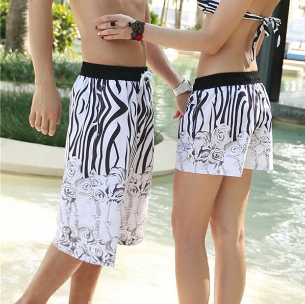 Discount! 21 Patterns! Beach Shorts 2015 Bermuda Masculina Summer Men Shorts Causal Swimwear Mens Surf Sport Lovers Shorts 2pcs(China (Mainland))