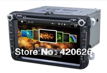 8 inch Car DVD GPS Navigation Radio for VW PASSAT CC GOLF5/6 SHARAN CADDY POLO TIGUAN Free 8G SD Card with Map