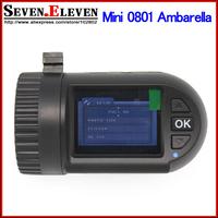 Car DVR Black Box Built-in 8GB Mini 0801 Ambarella with A2S60+Full HD 1080P 30FPS Video recorder+G-sensor OV2710+G-sensor+GPS