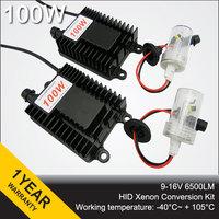 100W HID Xenon Conversion kits H1 H3 H4-1 H7 H8 H9 H11 9005 9006 880 881 D2H 9004 9007 100w  Ignition blocks xenon lamp