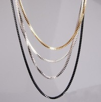 Min Order Is $10,Can Mix Orders! 2013Europe And America Multi-Layered Long Fashion Necklace Sweater Chain For Women