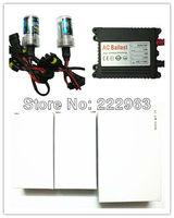 50pcs AC Slim ballast + 50pair AC single Bulb, High quality HID Xenon Kit Slim digital ballast, 12 months warranry