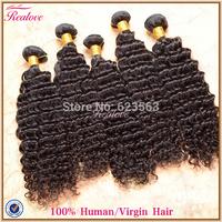 "malaysian virgin hair extension deep wave 6pc 8""-30""Relove malaysian curly hair Human Hair unprocessed virgin malaysian hair"