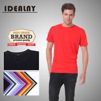 2014 New Cotton 1011 O neck Short Sleeve Men's T-shirt 14 Colors-CN Free Shipping
