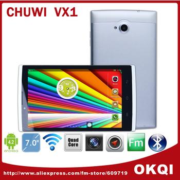 "Original Chuwi VX1 3G Phone Call Tablets MTK8382 Quad Core 7"" IPS 1280x800 1GB 16GB HDMI Android 4.2 WCDMA GPS"