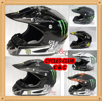 the capacetes casco CC DIRT BIKE MAN MOTOCROSS racing Helmets ATV MX HELMET GHOST monster CLAW helmet DOT APPROVED  XS S M L XL