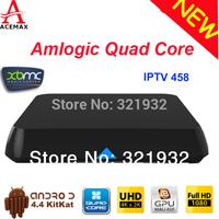 Original ACEMAX M8/M8N Amlogic S802 Quad Core TV Box XBMC Gotham Android 4.4 2.4G&5G Wifi  2GRAM/8G Rom BT 4.0 Rooted Jailbroken
