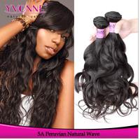 Grade 5A Virgin Peruvian Hair Natural Wave,3Pcs Mix Length Unprocessed Hair Extension,12-28 Inches Aliexpress Yvonne Hair