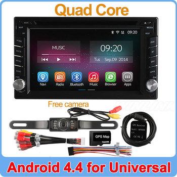 Quad Core Android 4.4.2 Car DVD Player GPS Navi PC For Toyota Tiida Qashqai Sunny X-Trail Paladin Frontier Patrol Versa Livina