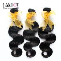 Malaysian Virgin Hair Extensions Body Wave Mix 3/4pcs Lot Natural Black Cheap Human Hair Weave Wavy Bundles Tangle Free Can Dye
