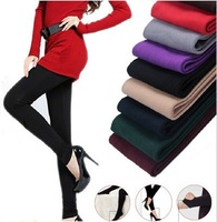 2013 New Arrival Women Casual Faux Velvet Winter Warm Legging High Quality Ladies' Sexy Knitted Thick Slim Pencil Black Leggings