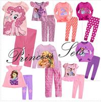 New Boys Girls Long Sleeve Pyjamas Baby Toddler Kids Sleepwear pjs Superman Dora Spider man Batman Motorcycle design 1 - 7 yrs