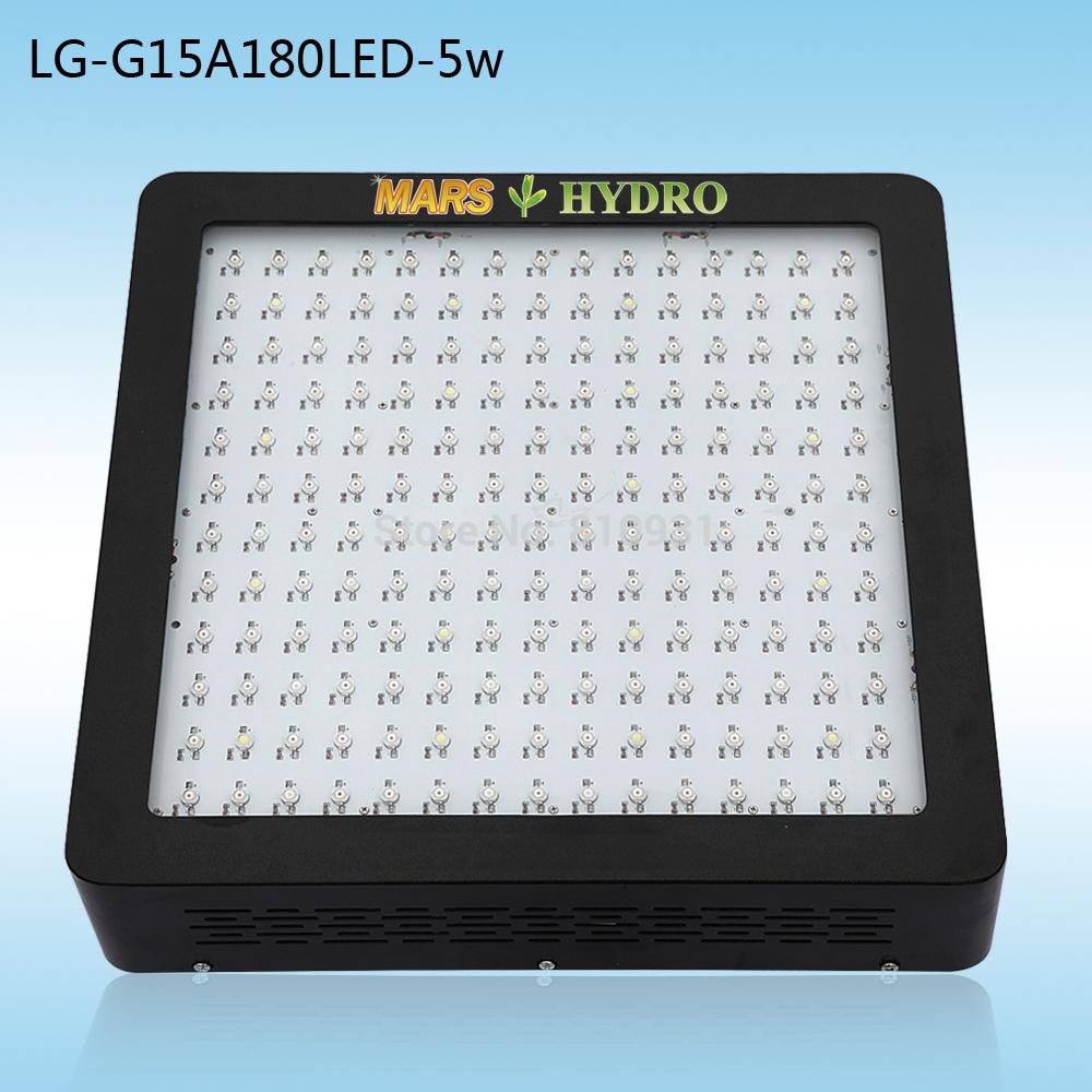 2014 mars ii 900w led coltiva la luce 5w chip 11 band spettro completo led coltivano le luci con daisy chain per la crescita delle piante/fioritura