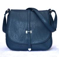 new simple leather shoulder messenger bags womens Ladies casual cross body handbags crossbody Small Bolsas femininas black brown