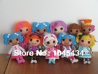 Lot of 5 Lalaloopsy Mini  Dolls 3inch For Girl Toy PlayHouse Each Unique(China (Mainland))