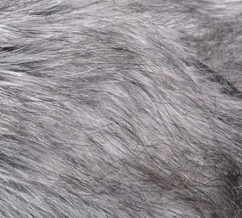 2014 Женщины Coat Faux Fox Мех Жилет Leather Жилет Outerwear Plus Размер Черный ...