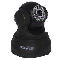 Hot TF MicroSD Card Slot Dual Audio Wireless Wifi Pan/Tilt IP Camera Baby Monitor Home Security Surveillance System