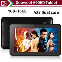 Gooweel A90HD tablet  9inch  HD screen 1024x600pixs  Bluetooth A23 dual core android 4.2 1GB / 16GB Dual camera WiFi  OTG