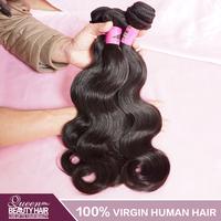 Grade 7A Virgin Peruvian Hair Body Wave 2Pcs/Lot Natural Black 8-30 inch,100% Unprocessed Virgin Peruvian Hair,Free Shipping
