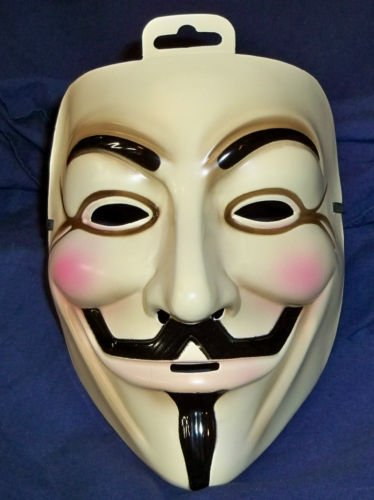 For Vendetta Deluxe Hat, Mask, Wig Combo/Set for Guy Fawkes ...