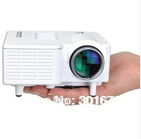 By China Psot Free Shipping Cheapest HDMI Mini AV LED Digital Projector USB,VGA, 320*240 Multimedia Player proyector 110-240V