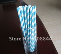 Wholesale Best Price 10000pcs mixed color Drinking Paper Straw wedding party drink straw 131 color available FEDEX free shipping